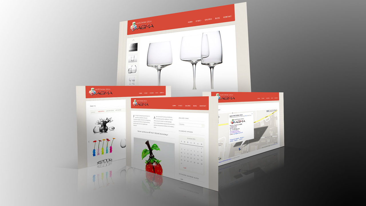 KRAK-GRAF portfolio AGMA strona internetowa 1