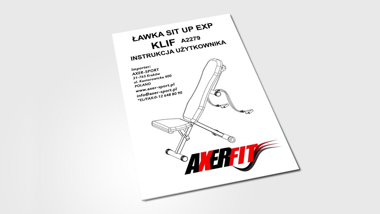 KRAK-GRAF portfolio AXERFIT instrukcje 1