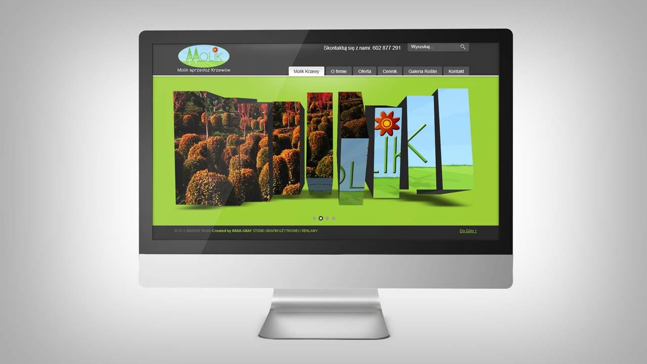 KRAK-GRAF portfolio KRZEWY MOLIK strona www 1