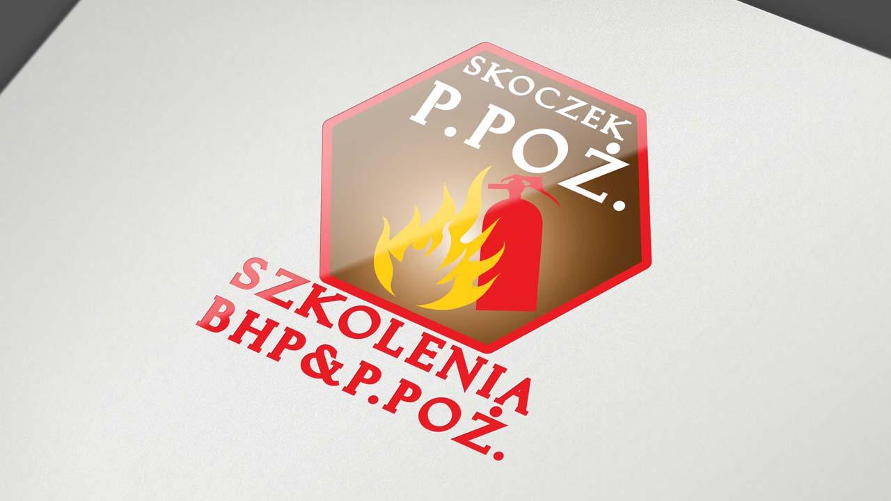 KRAK-GRAF portfolio SKOCZEK P.POŻ. logo 2