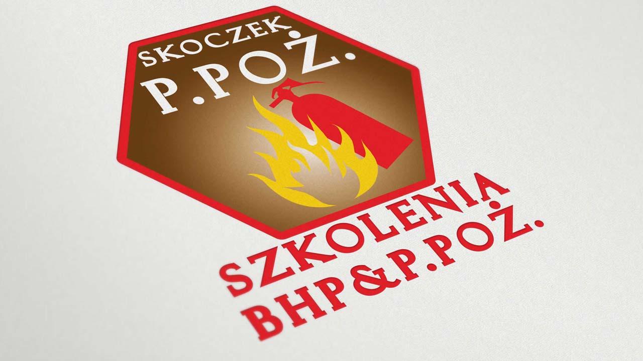 KRAK-GRAF portfolio SKOCZEK P.POŻ. logo 3