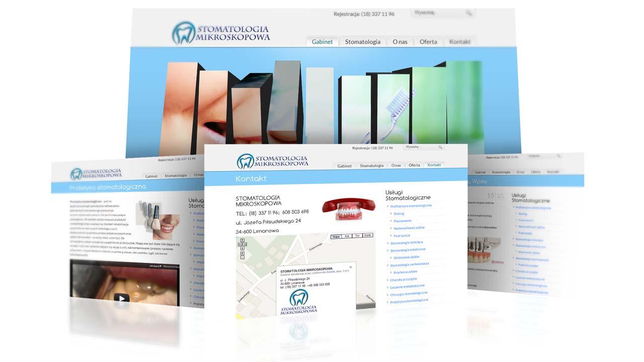 KRAK-GRAF portfolio STOMATOLOGIA MIKROSKOPOWA strona www 2