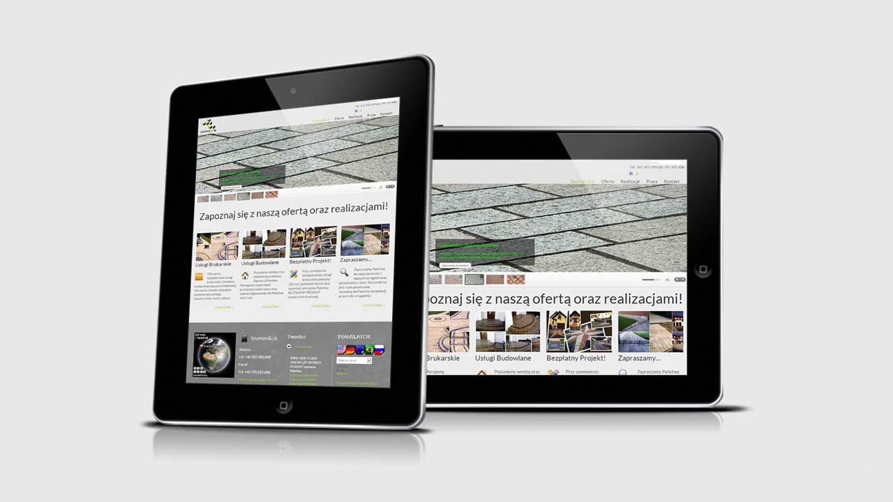 KRAK-GRAF portfolio SZUMIEC&LIS strona internetowa 1