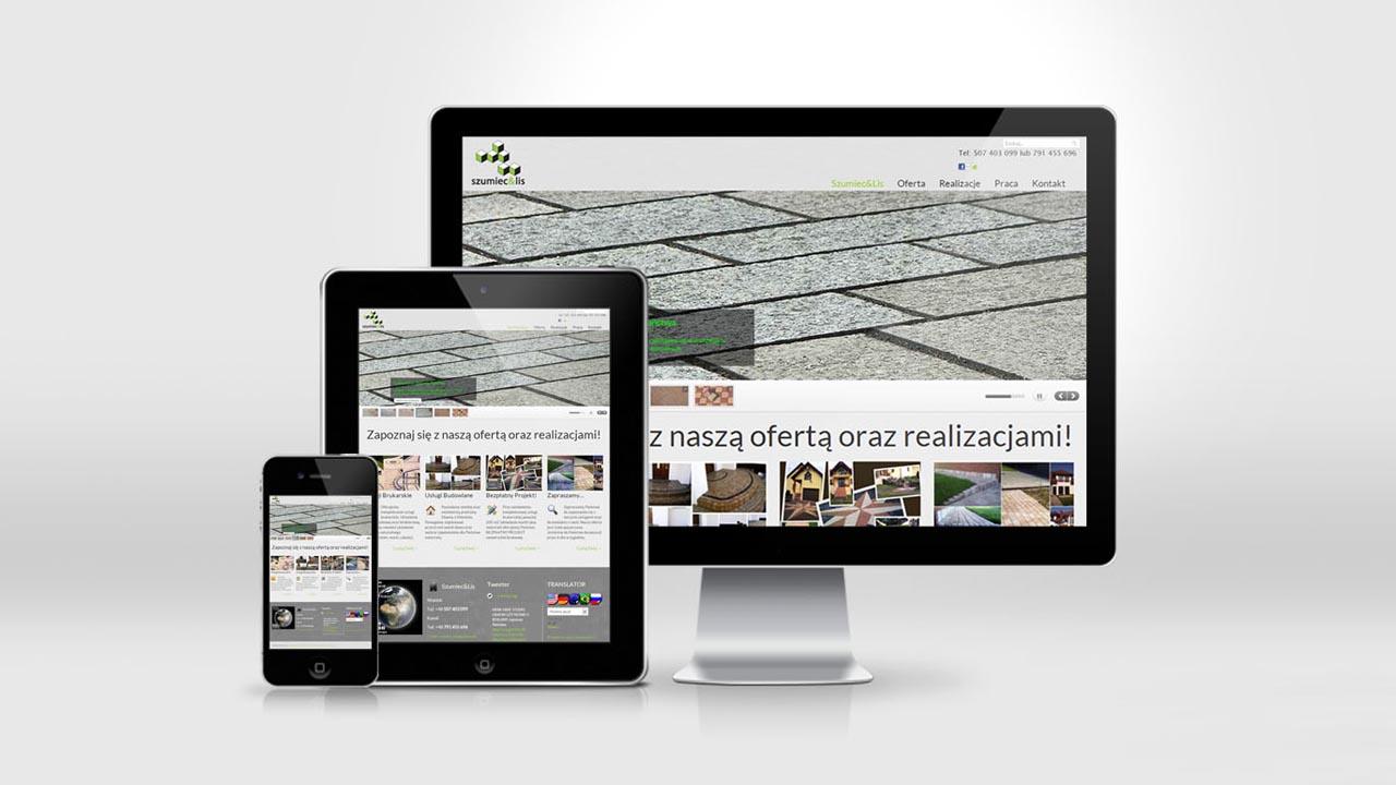 KRAK-GRAF portfolio SZUMIEC&LIS strona internetowa 2