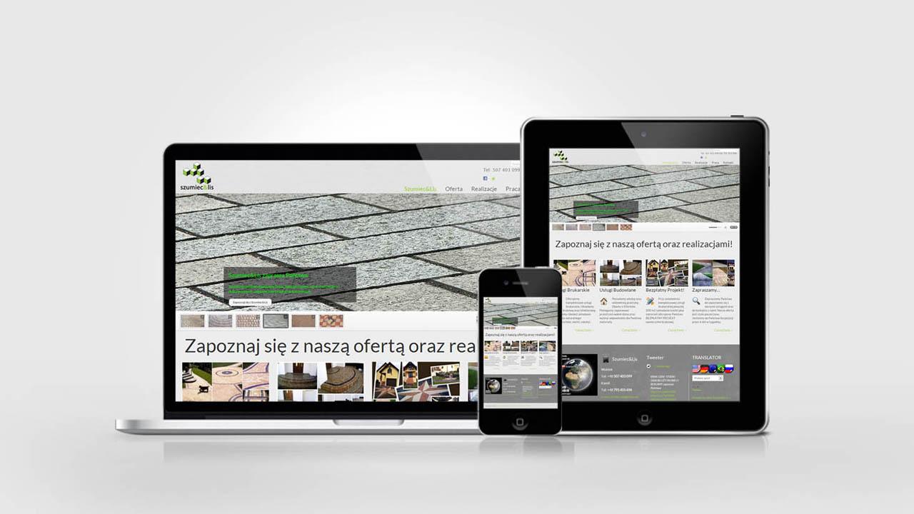 KRAK-GRAF portfolio SZUMIEC&LIS strona internetowa 3