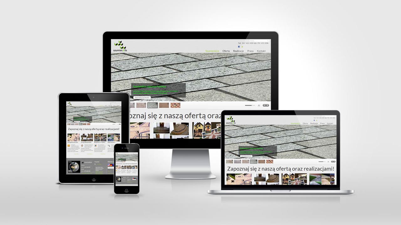KRAK-GRAF portfolio SZUMIEC&LIS strona internetowa 5