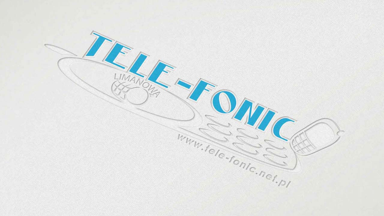 KRAK-GRAF portfolio TELE-FONIC logo 4