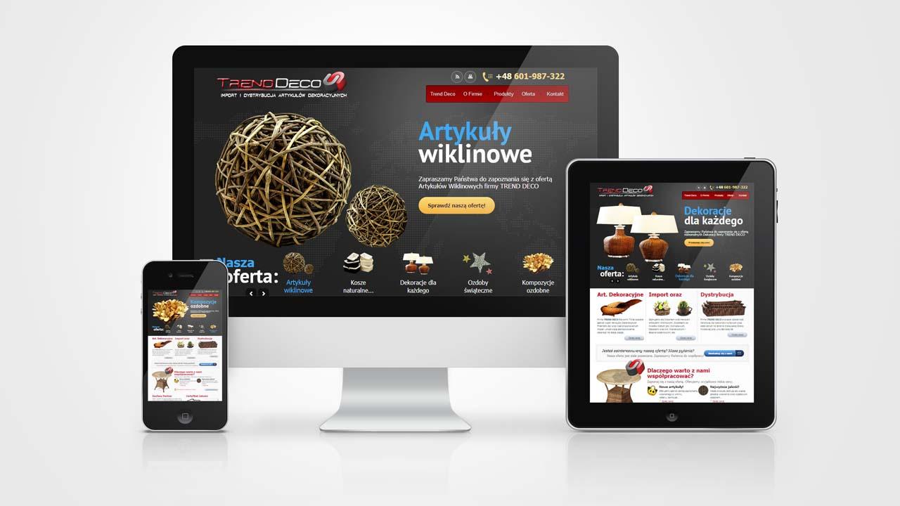 KRAK-GRAF portfolio TRENDDECO strona www 1