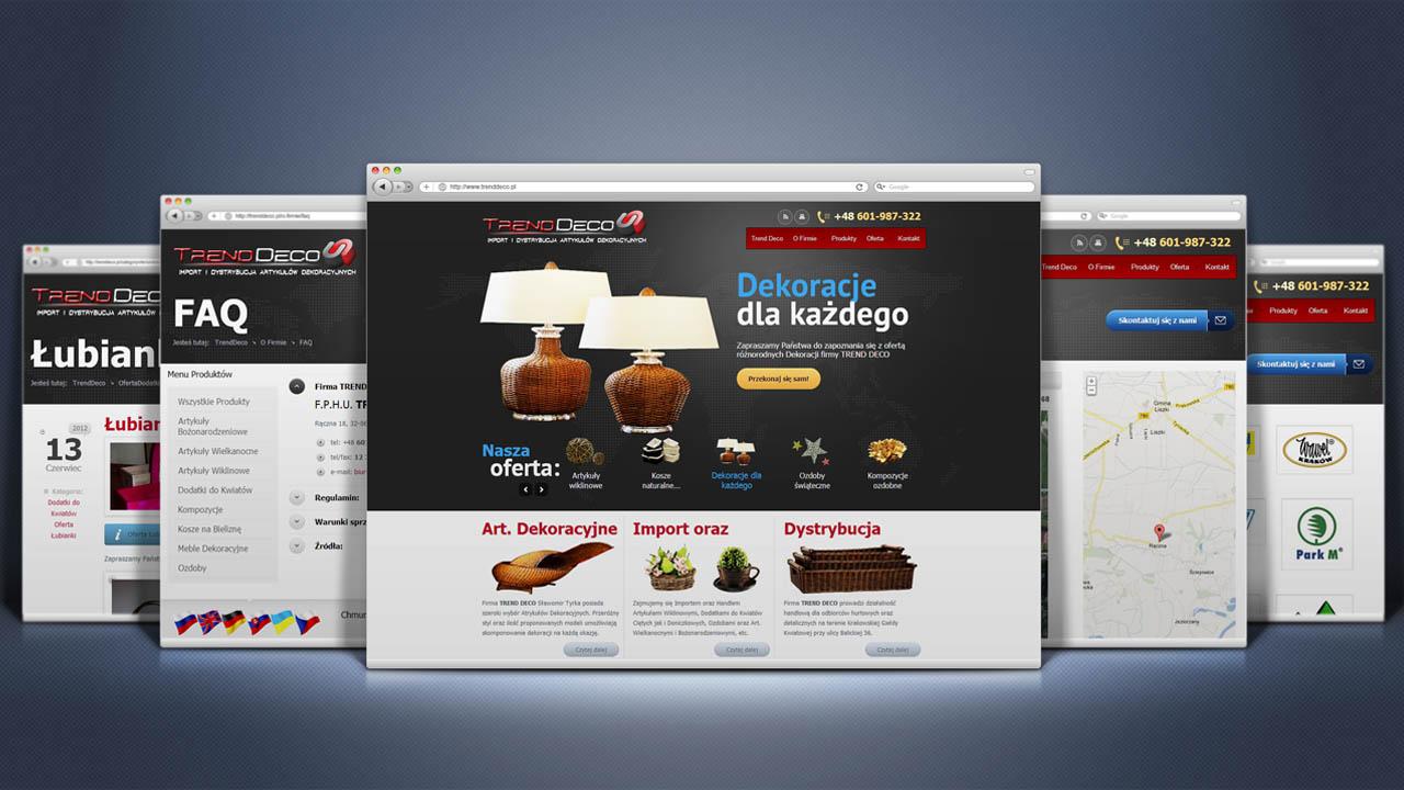 KRAK-GRAF portfolio TRENDDECO strona www 3