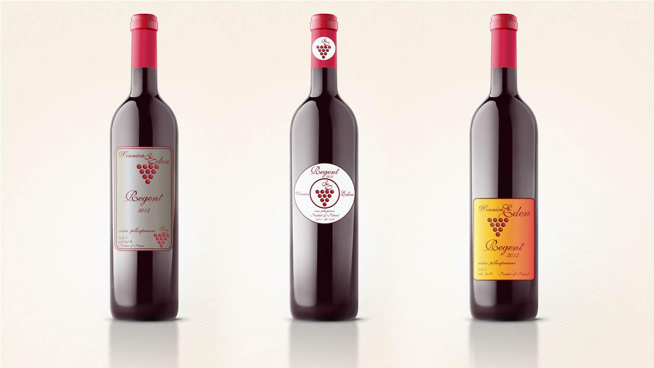 KRAK-GRAF portfolio WINNICA EDEN etykiety na wino 1