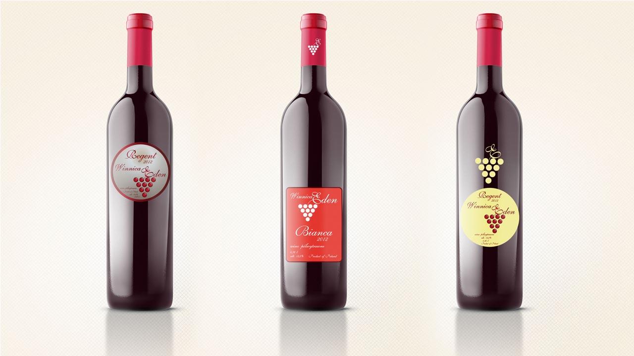 KRAK-GRAF portfolio WINNICA EDEN etykiety na wino 2