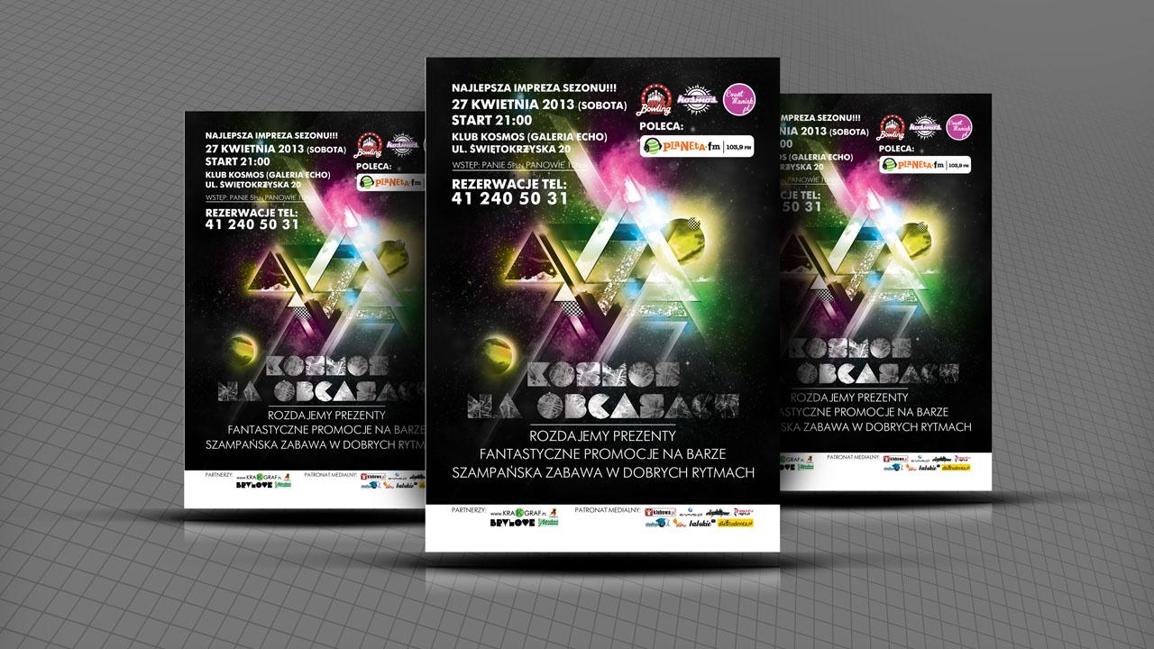 KRAK-GRAF portfolio EventMANIAK.pl PLAKAT 1