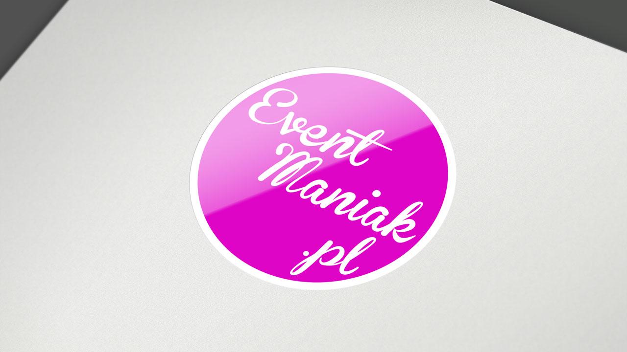 KRAK-GRAF portfolio EventMANIAK.pl LOGOtyp 2