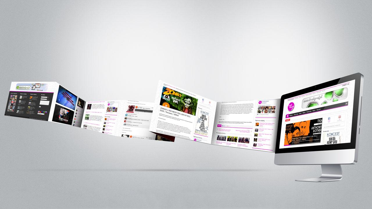 KRAK-GRAF portfolio EventMANIAK.pl strona www 4