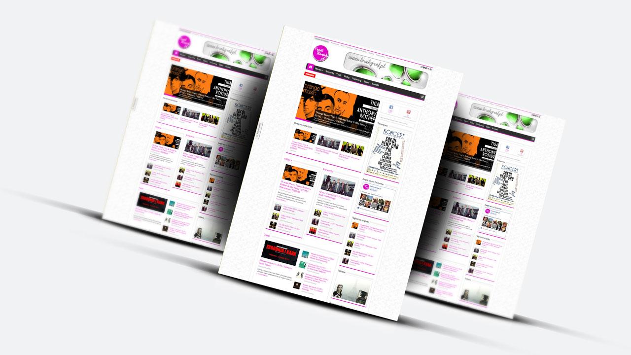 KRAK-GRAF portfolio EventMANIAK.pl strona www 5
