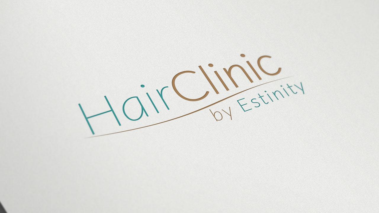 KRAK-GRAF portfolio HairCLINIC logo 2