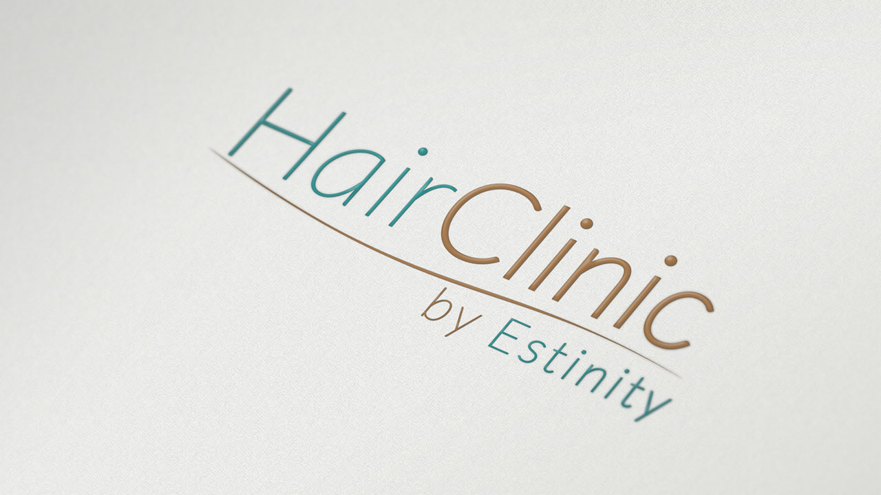 KRAK-GRAF portfolio HairCLINIC logo 3