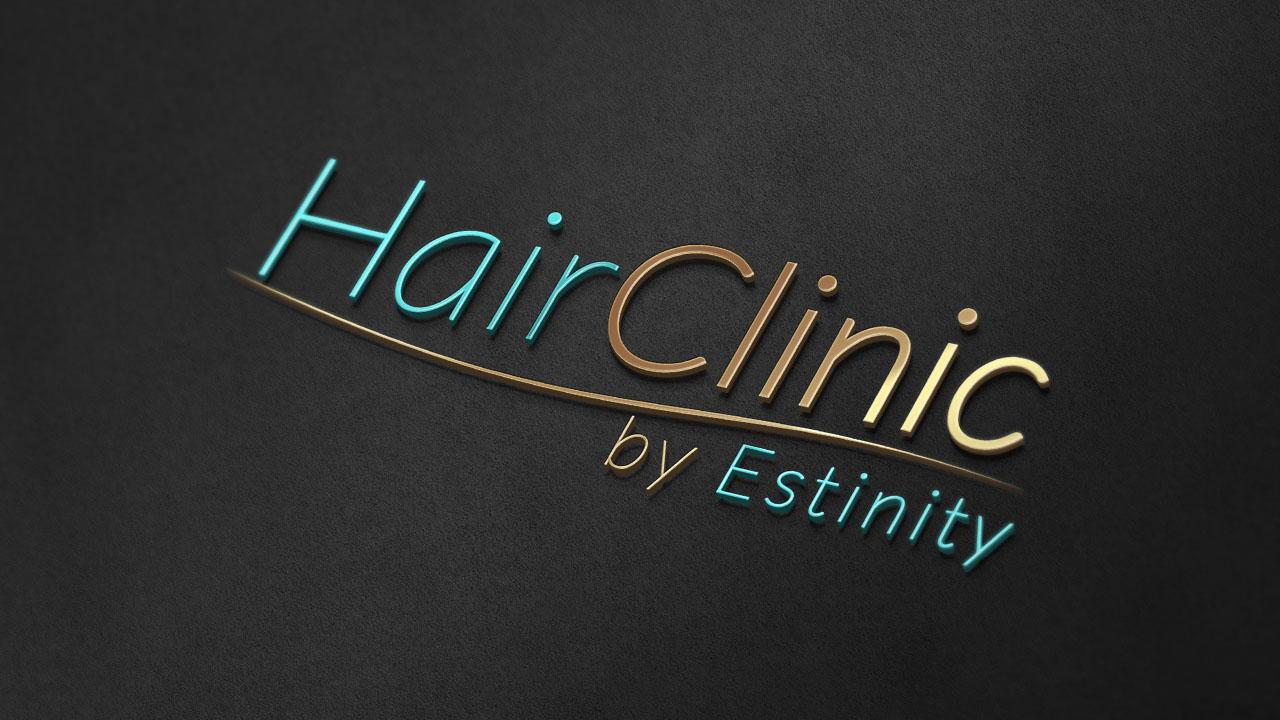 KRAK-GRAF portfolio HairCLINIC logo 4