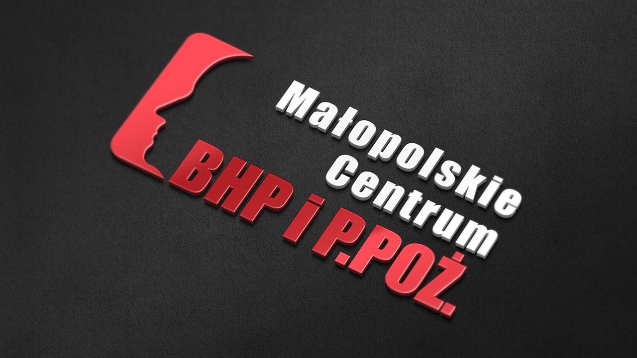 KRAK-GRAF portfolio MAŁOPOLSKIE CENTRUM BHP i P.POŻ. logo 1