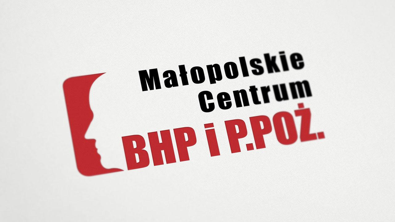 KRAK-GRAF portfolio MAŁOPOLSKIE CENTRUM BHP i P.POŻ. logo 2