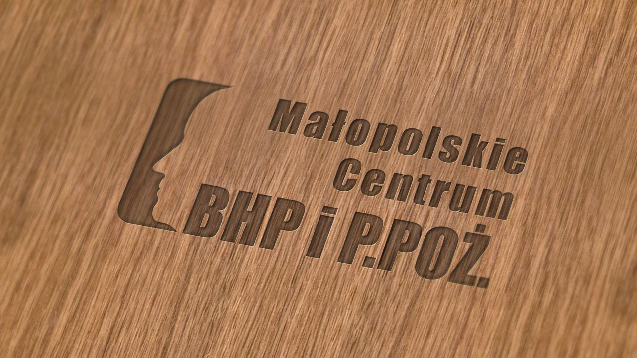 KRAK-GRAF portfolio MAŁOPOLSKIE CENTRUM BHP i P.POŻ. logo 3