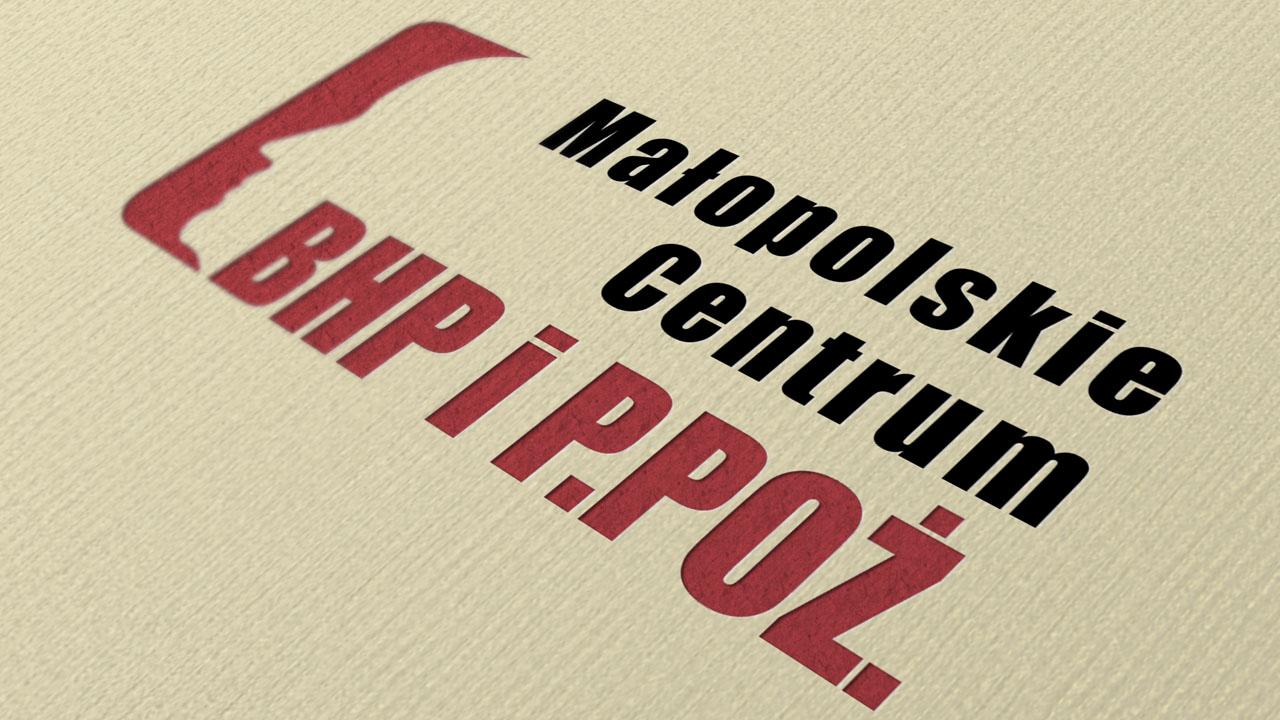 KRAK-GRAF portfolio MAŁOPOLSKIE CENTRUM BHP i P.POŻ. logo 4